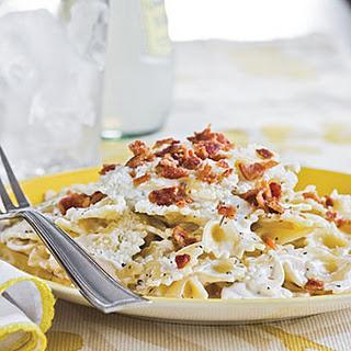 Bow Tie Pasta With Bacon Recipes.