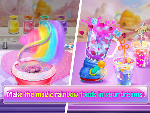 Magic Rainbow Unicorn Foods u2764 Dream Desserts! 1.0 screenshots 4