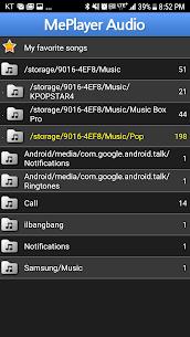 MePlayer Music (MP3, MP4 Audio Player) 3.6.99 Latest MOD APK 3