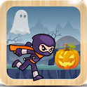 Amazing Ninja Halloween Run icon