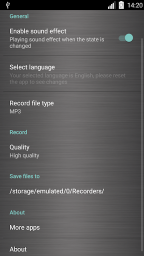 Voice recorder 1.36.462 screenshots 7