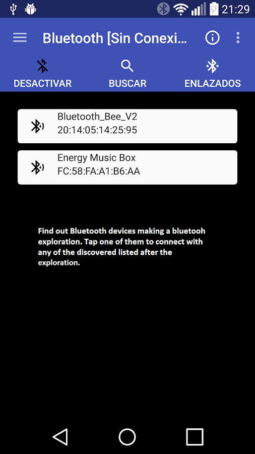 Bluetooth Control Programmable- screenshot