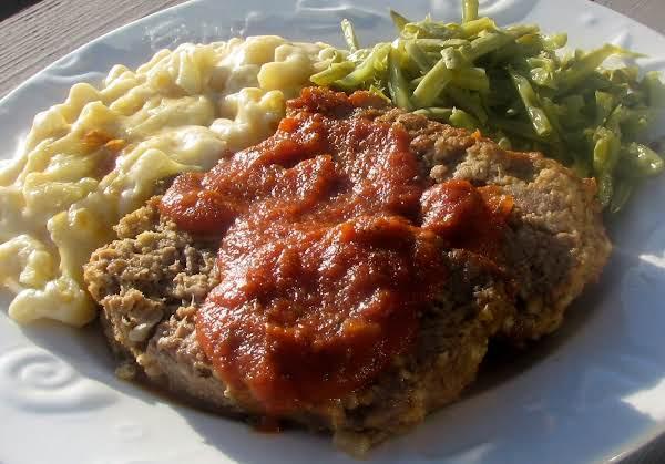 Paul's Italian-style Meatloaf
