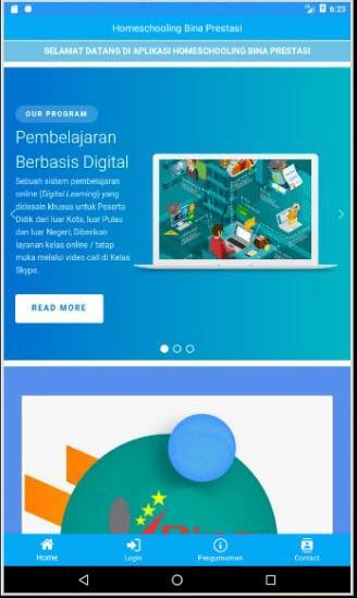 Homeschool seznamovací web