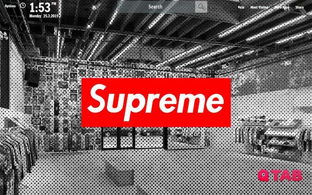 Supreme New Tab Supreme Wallpapers