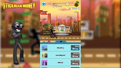 玩免費模擬APP|下載Stickman crazy money app不用錢|硬是要APP