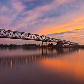 Kapuas river bridge by Muhamad Aris - Buildings & Architecture Bridges & Suspended Structures