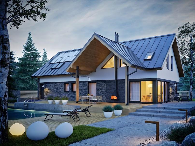 Projekt domu Nikolas 2 G2 Energo Plus