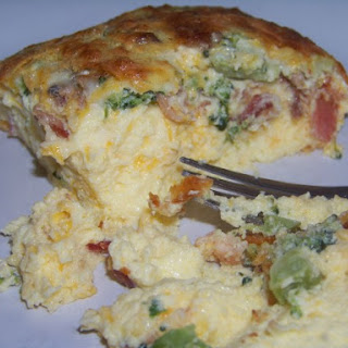 Broccoli Bacon Egg Casserole