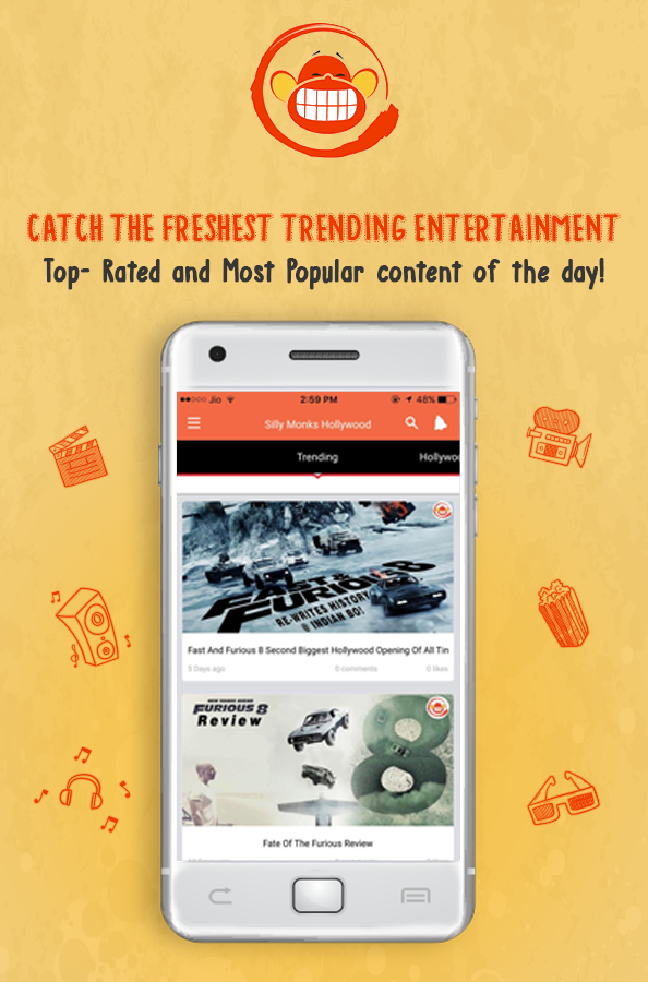 Silmo - Free Entertainment App- screenshot