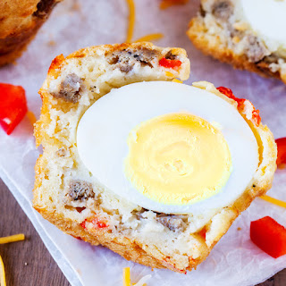 Breakfast Sausage & Egg Muffins
