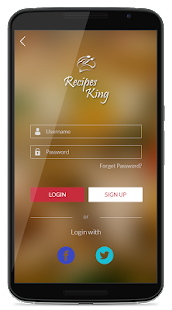 Recipes King- screenshot thumbnail