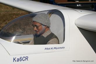 Photo: 寒いのでパイロットも冬バージョンにしました。