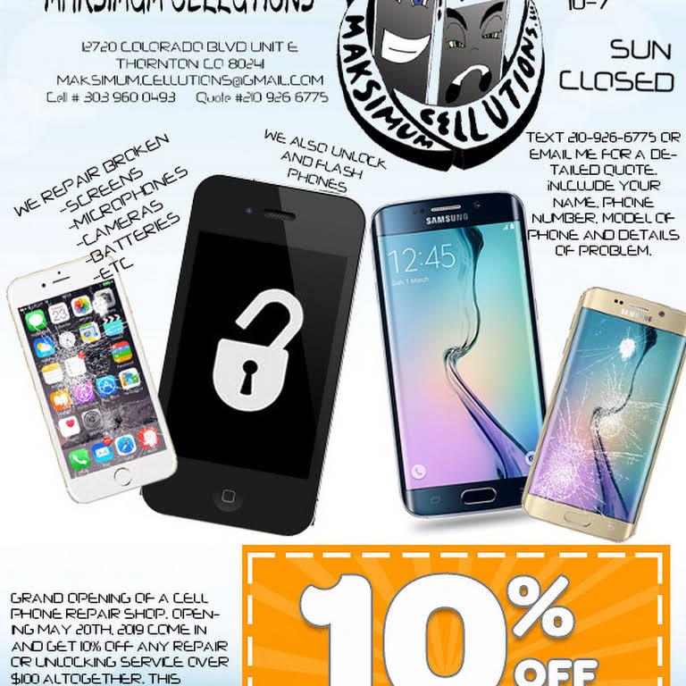 Maksimum Cellutions, LLC - Mobile Phone Repair Shop in Thornton