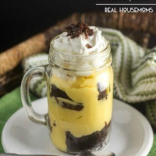 Irish Cream Brownie Parfait
