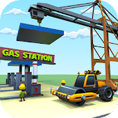 Highway Gas Station: Construction City Simulator
