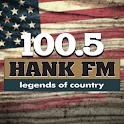 100.5 Hank FM icon