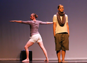 Photo: Five Memories Choreographer: Katherine Call Dancer: Lacey Wallis and  Courtney Pearce Photo By: Stan Plewe