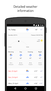 Yandex.Weather- screenshot thumbnail