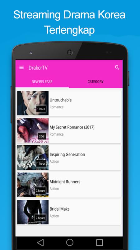 drakor TV Korean Drama Movies Streaming APK 1 1 0 Download - Free