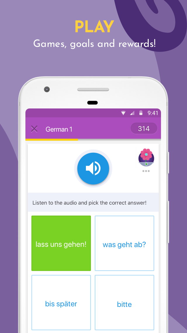 Learn Languages, Grammar & Vocabulary with Memrise Screenshot 2