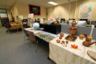 Photo: Modern Languages Open House 2014. Photos by Sue Lee, University Communications, slee@uwlax.edu, 608.785.8497.