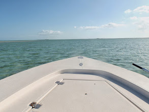 Photo: Our favorite spot in the world- casting deck, Andros Island
