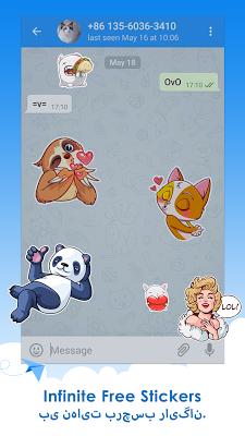 Telepal for Telegram Messenger - screenshot