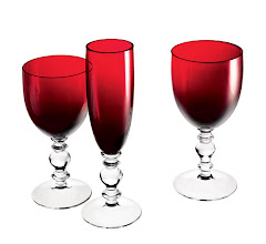 Photo: WILLIAM YEOWARD CRYSTAL Ruby crystal stemware collection. $95–$99. Imported. Seventh Floor. 212 872 2686
