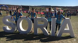 Representantes almerienses en la competición de Soria.