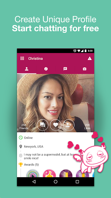 #3. Waplog Chat & Free Dating (Android)