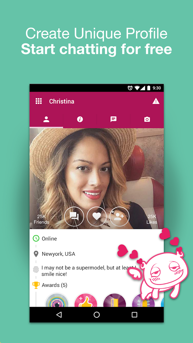 Waplog - Free Chat, Dating App, Meet Singles Android 3