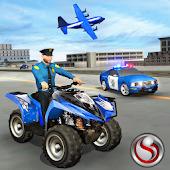 Tải US Police ATV Quad Bike Plane Transport Game miễn phí