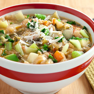 Mom's Minestrone Soup.