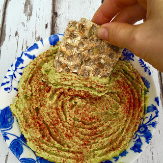 Clean Avocado Hummus