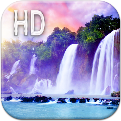 Magic Waterfall Live Wallpaper Icon