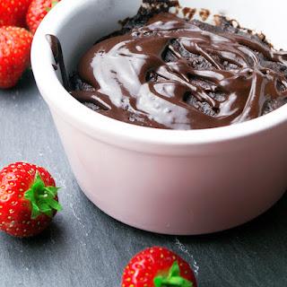 Vegan Gluten Free Chocolate Mug Cake.