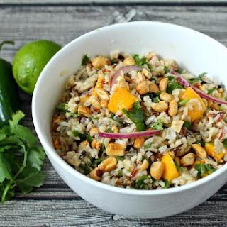 Wild Rice Salad With Mango And Cilantro