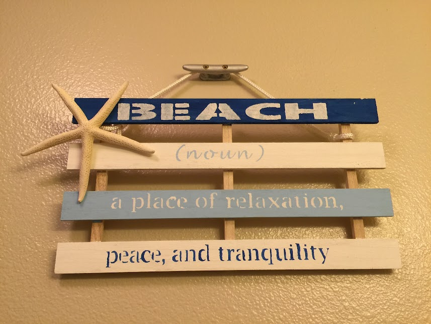 Diy Wooden Beach Sign Free Template