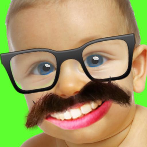 有趣的脸换:亲效果 漫畫 App LOGO-APP試玩