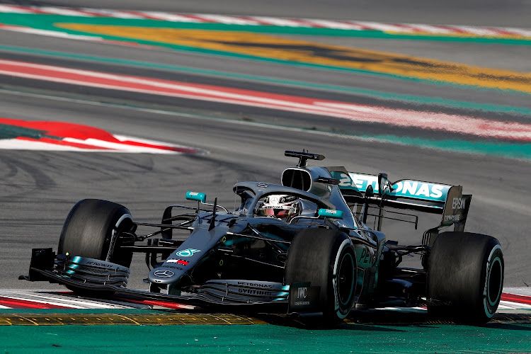 File Photo: February 28, 2019 Mercedes' Lewis Hamilton in action during testing. Picture: REUTERS / ALBERT GEA