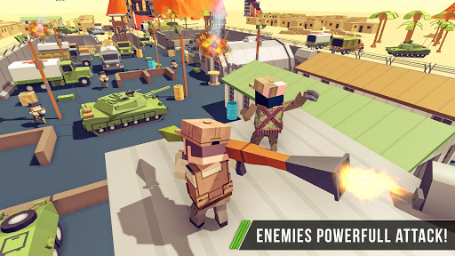 Blocky Army Base:Modern War Critical Action Strike 1.11 screenshots 7