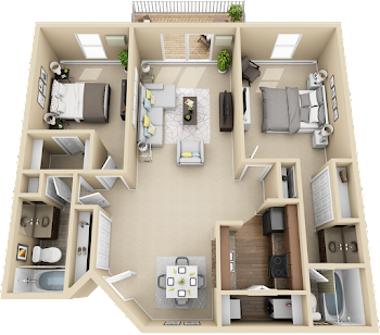 Go to 2B Floorplan page.