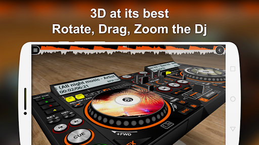 DiscDj 3D Music Player - 3D Dj Music Mixer Studio v4.007s screenshots 1