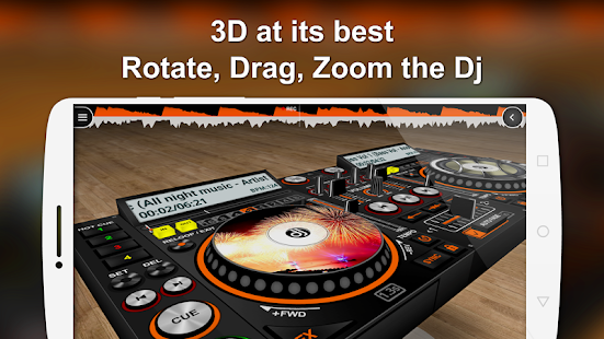 DiscDj 3D Music Player - Dj Music Mixer Android Screenshot