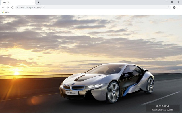 BMW i8 New Tab & Wallpapers Collection