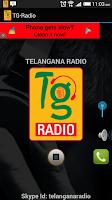 Screenshot of Telangana Radio
