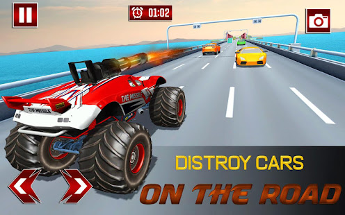 Monster Shooting Car:Highway Shooting Game for PC-Windows 7,8,10 and Mac apk screenshot 5