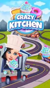Crazy Kitchen 5.8.0 Apk Mod (Unlimited Money) Latest Version Download 5