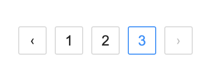Pagination react component